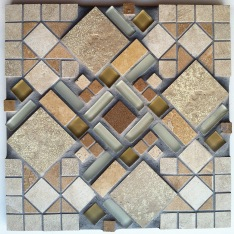 geometric mosaic, 2012