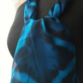 blue chiffon itajime webx